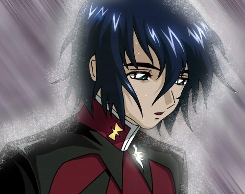 Mobile Suit Gundam SEED Destiny, Athrun Zala, Vector Art