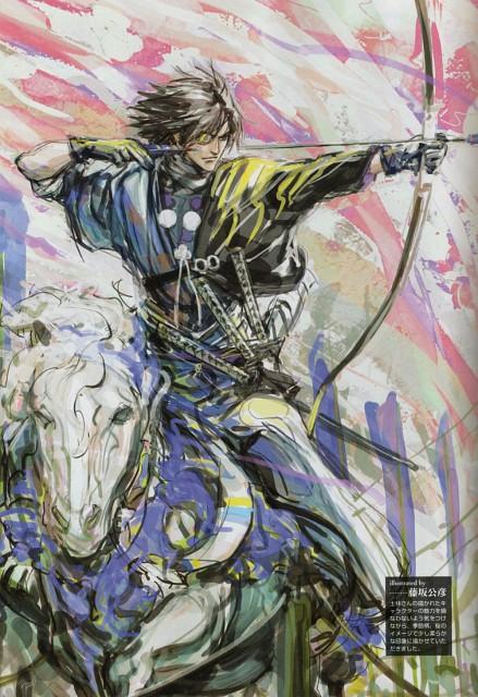 Makoto Tsuchibayashi, Capcom, Sengoku Basara 2 Visual & Sound Book Vol. 1, Sengoku Basara, Masamune Date