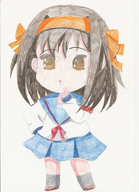 Noizi Ito, Kyoto Animation, The Melancholy of Suzumiya Haruhi, Haruhi Suzumiya, Member Art
