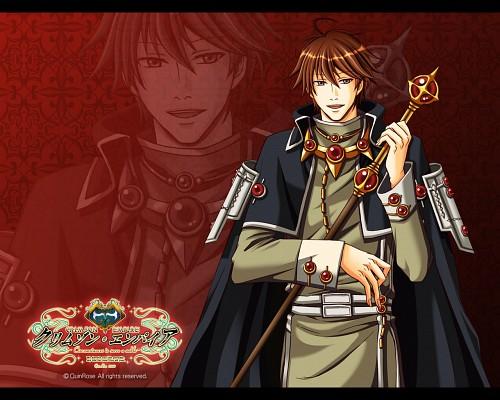 Hazuki Futaba, QuinRose, Crimson Empire, Meissen Hildegarde, Official Wallpaper