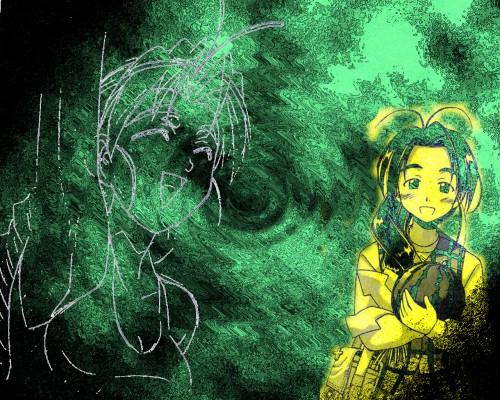 Ken Akamatsu, Love Hina, Mutsumi Otohime Wallpaper