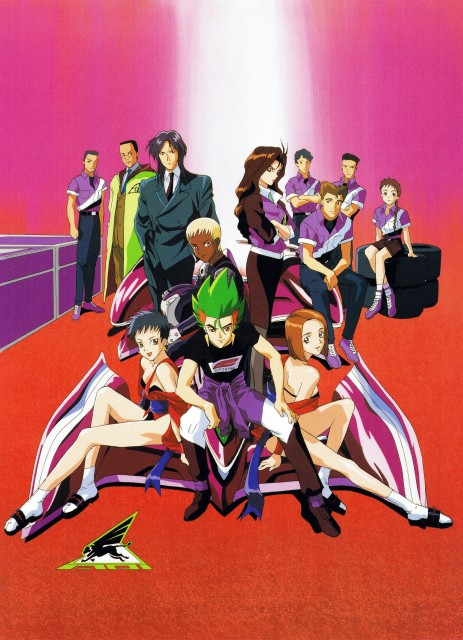 Hisayuki Hirokazu, Sunrise (Studio), Future GPX Cyber Formula, Hirokazu Hisayuki ART WORKS, Jotaro Kaga