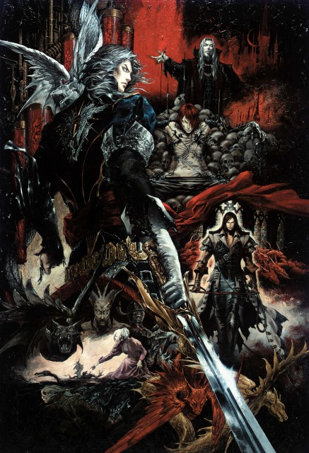 Ayami Kojima, Castlevania, Isaac (Castlevania), Trevor Belmont, Dracula