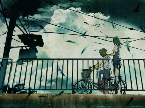 Makoto Shinkai, Hoshi no Koe, Noboru Terao, Mikako Nagamine Wallpaper