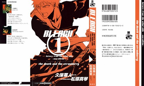 Kubo Tite, Bleach, Ichigo Kurosaki, Manga Cover