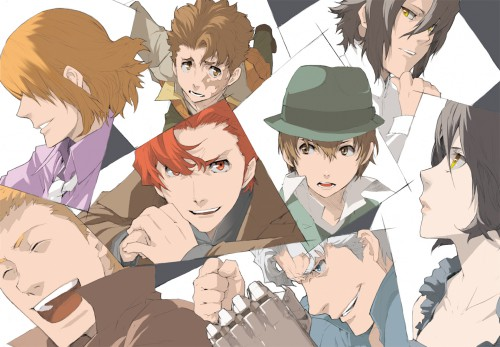 Katsumi Enami, Brains Base, Baccano!, Claire Stanfield, Huey Laforet