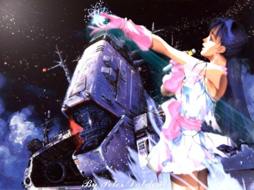 Bandai Visual, Macross, Lynn Minmay Wallpaper