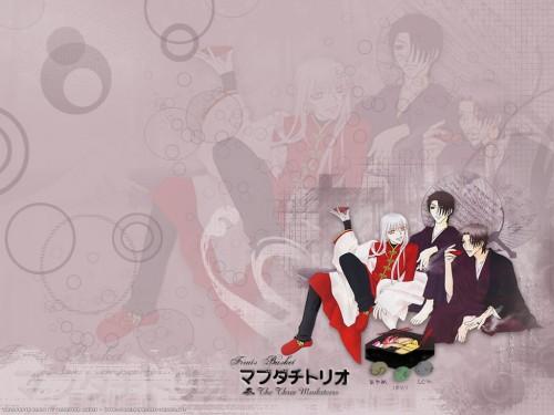 Natsuki Takaya, Fruits Basket, Hatori Sohma, Shigure Sohma, Ayame Sohma Wallpaper