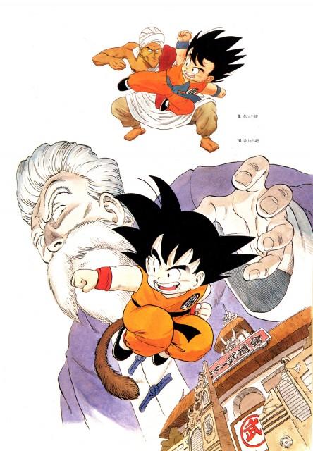 Akira Toriyama, Toei Animation, Dragon Ball, Muten Roshi, Kid Goku
