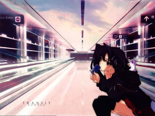 Hiro Suzuhira, Monochrome (Visual Novel), Risa Tsubaki Wallpaper