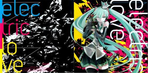 Tansuke, Vocaloid, Miku Hatsune, Album Cover
