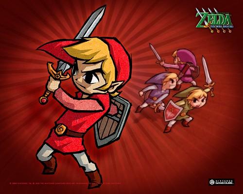 Nintendo, The Legend of Zelda: Four Swords Adventures, The Legend of Zelda, Link, Toon Link