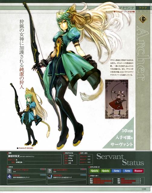 Genji Asai, TYPE-MOON, Fate/Grand Order, Atalanta