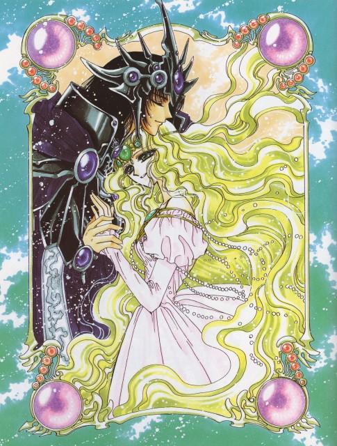 CLAMP, Magic Knight Rayearth, Magic Knight Rayearth 2 Illustrations Collection, Emeraude, Zagato