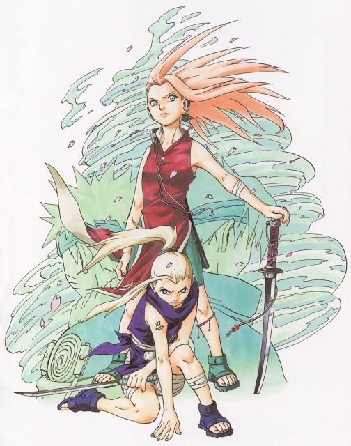 Masashi Kishimoto, Naruto, Uzumaki (Artbook), Ino Yamanaka, Sasuke Uchiha