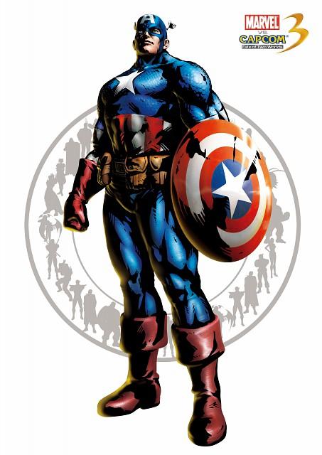 Marvel, Capcom, Marvel vs Capcom 3, Captain America