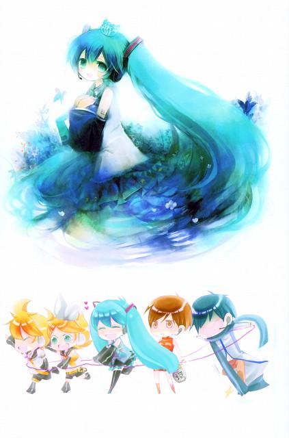 Shimeko, Landmark (Artbook), Vocaloid, Kaito, Miku Hatsune
