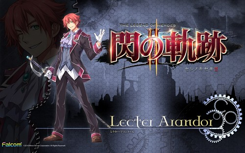 Falcom, The Legend of Heroes: Zero no Kiseki, Lecter Arandor, Official Wallpaper