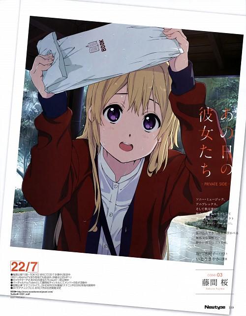 Yukiko Horiguchi, 22/7, Sakura Fujima, Magazine Page, Newtype Magazine
