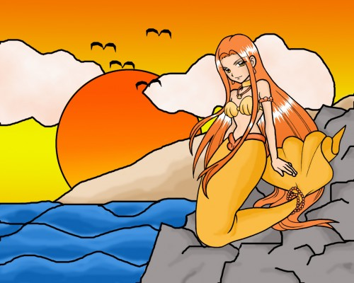 Pink Hanamori, SynergySP, Mermaid Melody Pichi Pichi Pitch, Sara Wallpaper