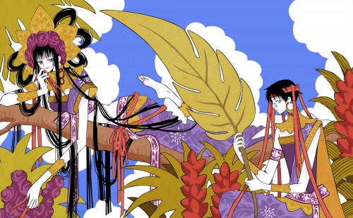 CLAMP, xxxHOLiC, Yuuko Ichihara, Kimihiro Watanuki, Vector Art