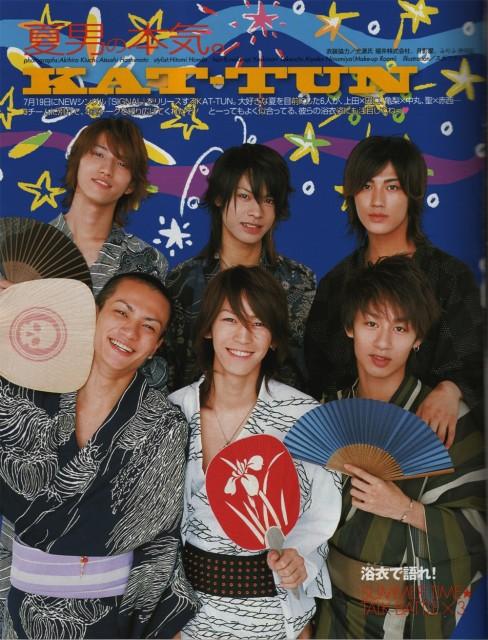 Koki Tanaka, Kazuya Kamenashi, Junnosuke Taguchi, Yuichi Nakamaru, Jin Akanishi