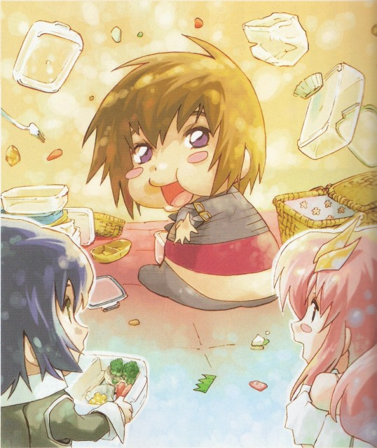 RGB, Mobile Suit Gundam SEED Destiny, Athrun Zala, Kira Yamato, Lacus Clyne
