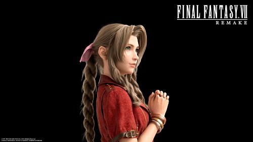 Square Enix, Final Fantasy VII, Aerith Gainsborough, Official Digital Art