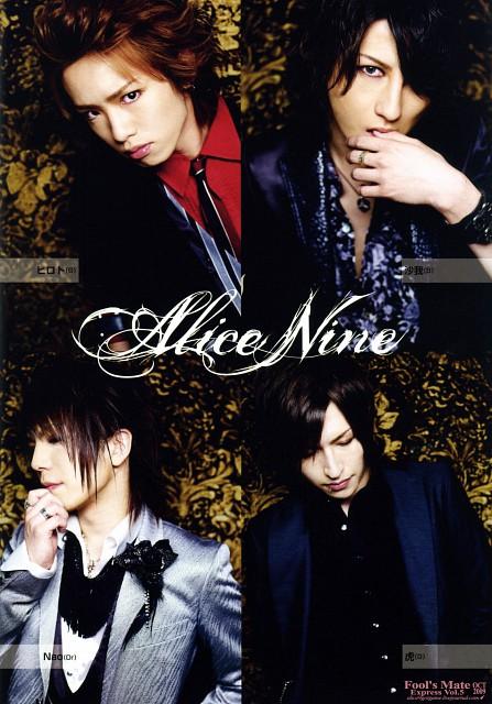 Hiroto, Shou, Saga (J-Pop Idol), Alice Nine, Tora