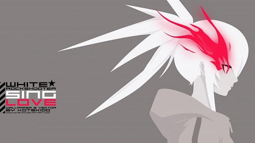 Ordet, Black Rock Shooter, White Rock Shooter, Vector Art Wallpaper