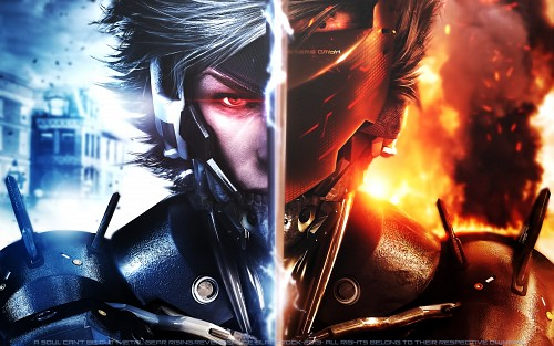 Konami, Metal Gear Rising: Revengence, Metal Gear Solid, Raiden Wallpaper