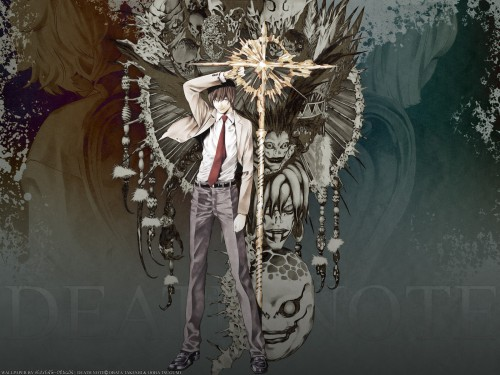 Takeshi Obata, Madhouse, Death Note, Mello, Light Yagami Wallpaper