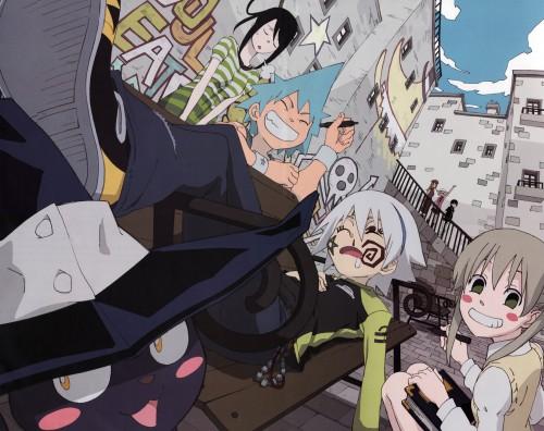 Atsushi Okubo, BONES, Soul Eater, Tsubaki Nakatsukasa, Death The Kid