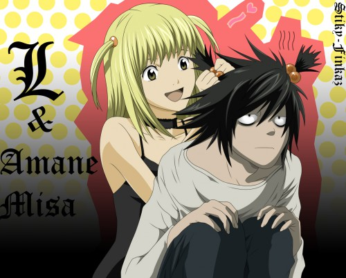 Takeshi Obata, Madhouse, Death Note, Misa Amane, L