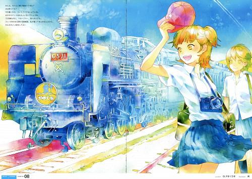 Ame (Mangaka), Tetsudou Shoujo Hyakkei