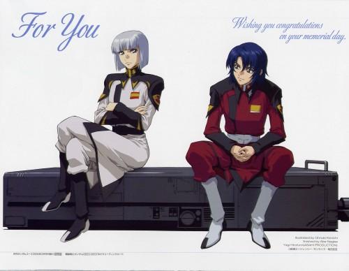 Sunrise (Studio), Mobile Suit Gundam SEED Destiny, Athrun Zala, Yzak Joule