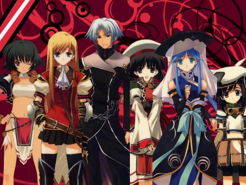 Tears to Tiara, Llyr, Riannon, Arawn, Morgan (Tears to Tiara) Wallpaper