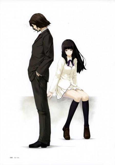Miki Sugina, Innocent Grey, Nuregarasu, Kara no Shoujo, Reiji Tokisaka