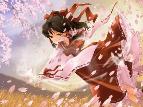 Touhou, Reimu Hakurei Wallpaper