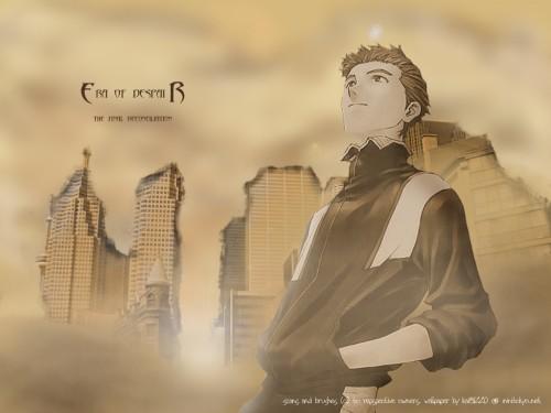 Yoshiyuki Sadamoto, Neon Genesis Evangelion, Toji Suzuhara Wallpaper