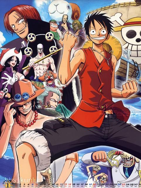 Eiichiro Oda, One Piece, Helmeppo, Shanks, Benn Beckman