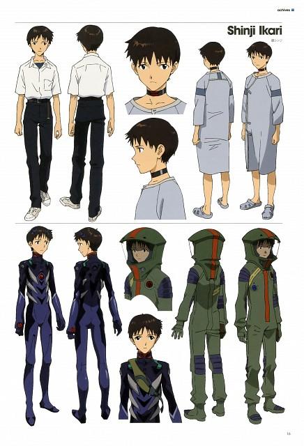 Gainax, Khara, Neon Genesis Evangelion, Evangelion 3.0 Theatrical Booklet, Shinji Ikari