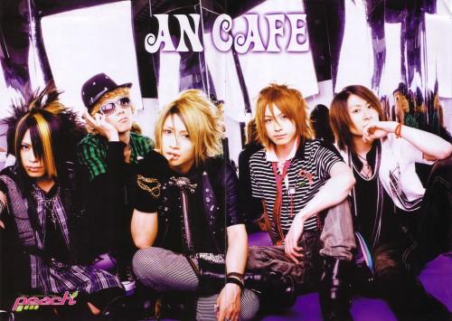 Kanon (J-Pop Idol), Akiharu Tsukiyama, Yuuki (J-Pop Idol), An Cafe, Teruki