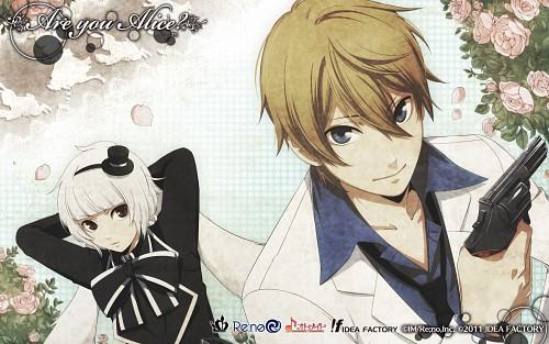 Idea Factory, Are You Alice, White Rabbit (Are You Alice), Alice (Are You Alice), Official Wallpaper
