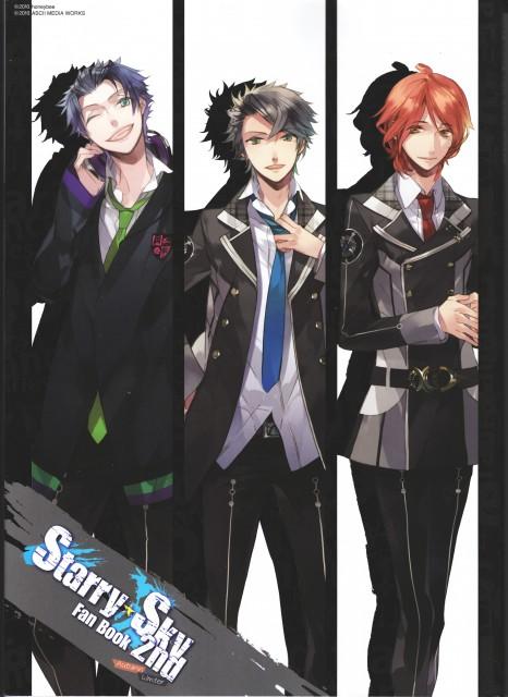 Kazuaki, Starry Sky Fan Book 2nd ~Autumn & Winter~, Starry Sky, Hayato Aozora, Tsubasa Amaha