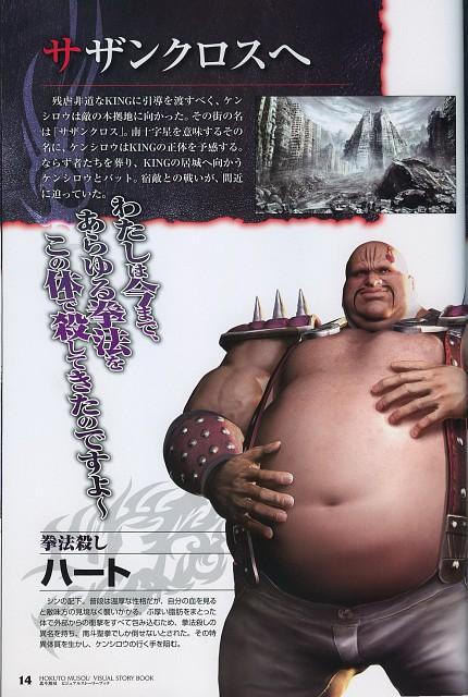 Tetsuo Hara, Toei Animation, Koei, Fist of the North Star, Mr. Heart