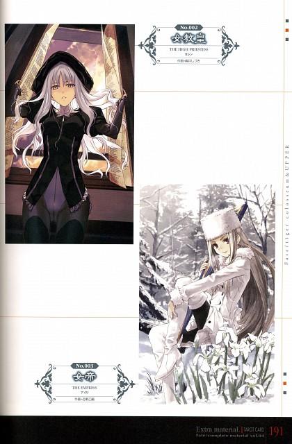 TYPE-MOON, Fate/Zero, Fate/complete material IV Extra material., Fate/Hollow ataraxia, Caren Ortensia