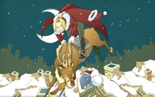 Hiromu Arakawa, BONES, Fullmetal Alchemist, Alphonse Elric, Edward Elric Wallpaper