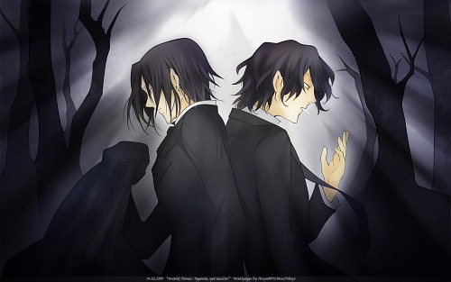 Jun Mochizuki, Xebec, Pandora Hearts, Gilbert Nightray, Oswald Baskerville Wallpaper