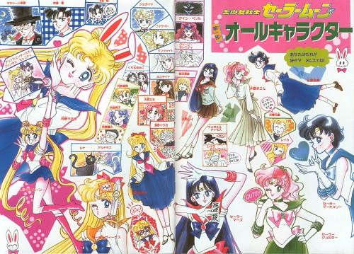 Naoko Takeuchi, Bishoujo Senshi Sailor Moon, BSSM Original Picture Collection Vol. I, Ikuko Tsukino, Shingo Tsukino